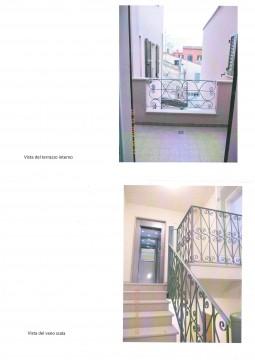 foto terrazzo e vano scala